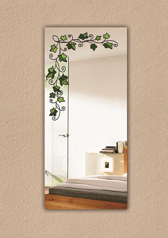 Купить зеркало с рисунком зеркала настенные с витражными рис.